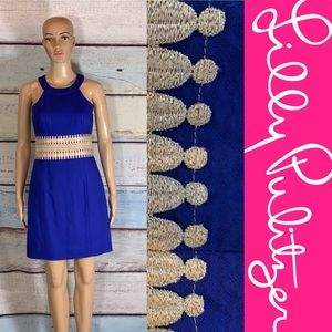 Lily Pulitzer Ashlyn Shift Dress In Bomber Blue